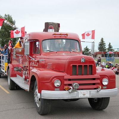 Ponoka Fire Truck
